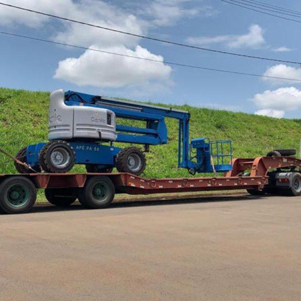 aluguel Plataforma Articulada Diesel 18