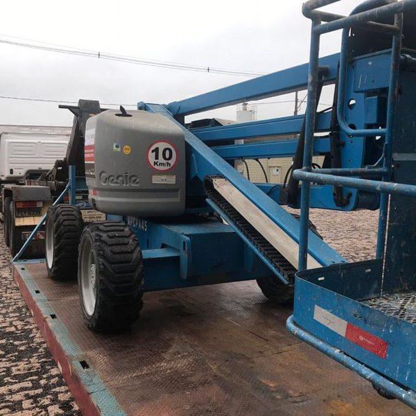 aluguel Plataforma Articulada Diesel 22